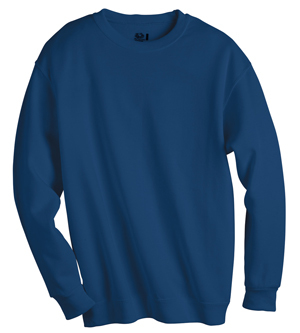 3Pk. Fruit of the Loom Cotton Crewneck Sweatshirt