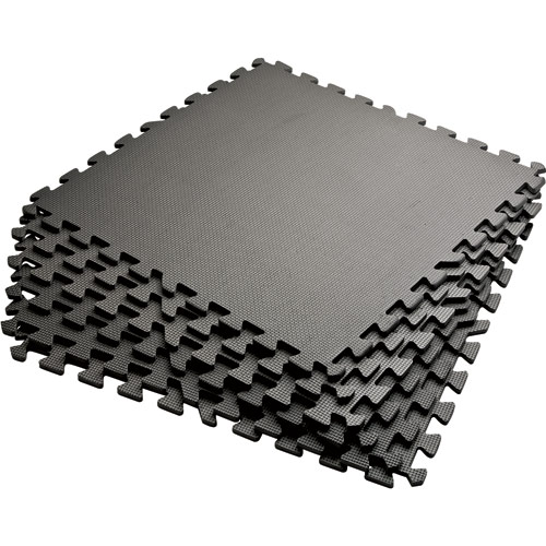 6 Piece Interlocking Cushion Floor Mat Set Great For Work Home Gyms Or Play  Areas Unlimited