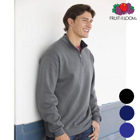 4-Pk. Softspun Quarter-Zip Sweatshirts