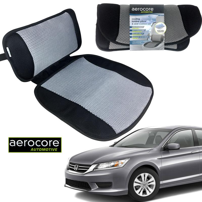 Aerocore Automotive Pillow and Seat Cushion Set