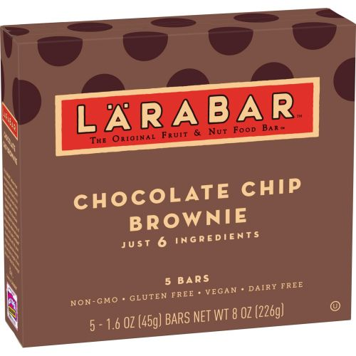 5 Ct Larabar Chocolate Chip Brownie Fruit & Nut Bars