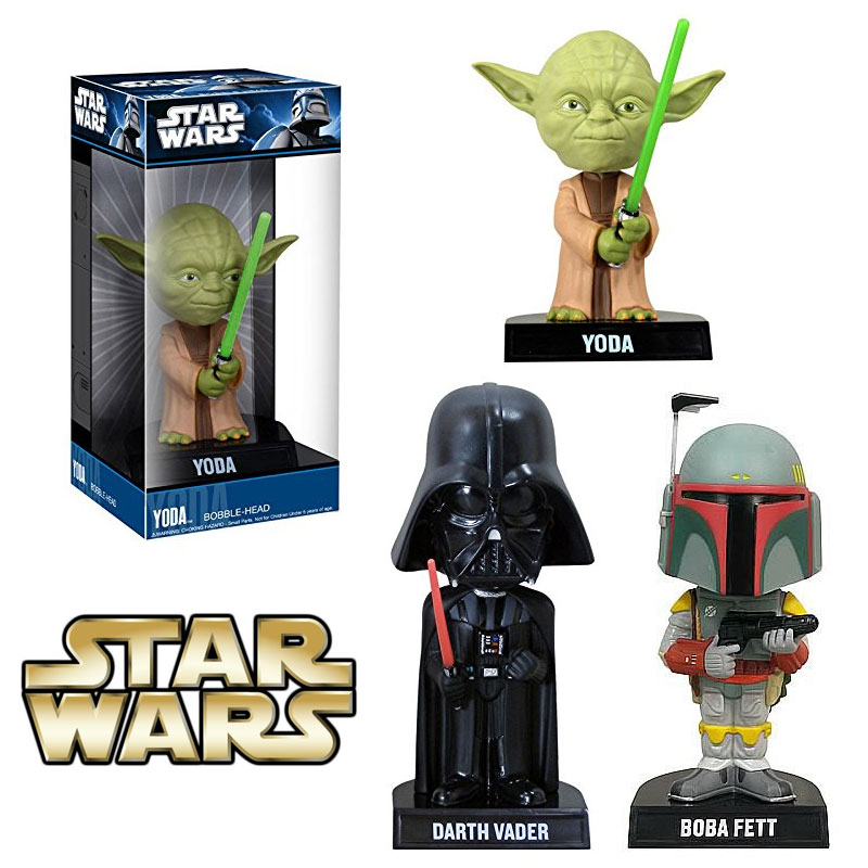 Funko Star Wars Bobblehead in Boba Fett, Darth Vader, or Yoda for Free