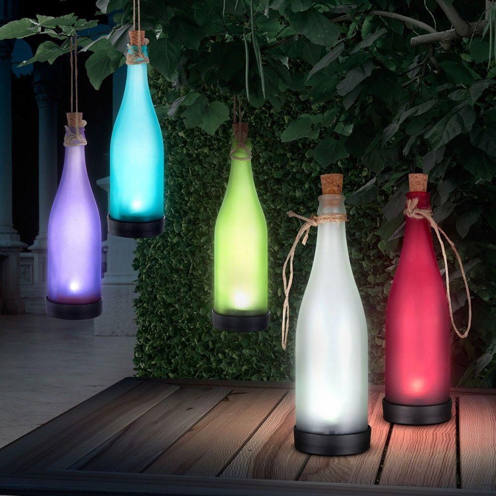 FREE LED Solar Hanging Garden.