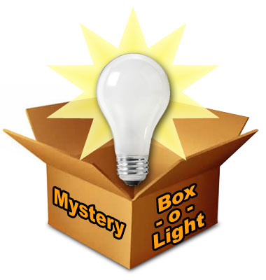 Solar Eclipse Mystery Box of Light
