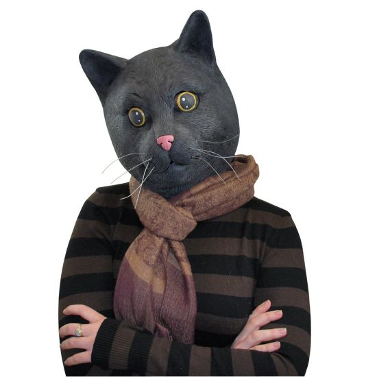 Black Jack The Cat Mask - GREA...