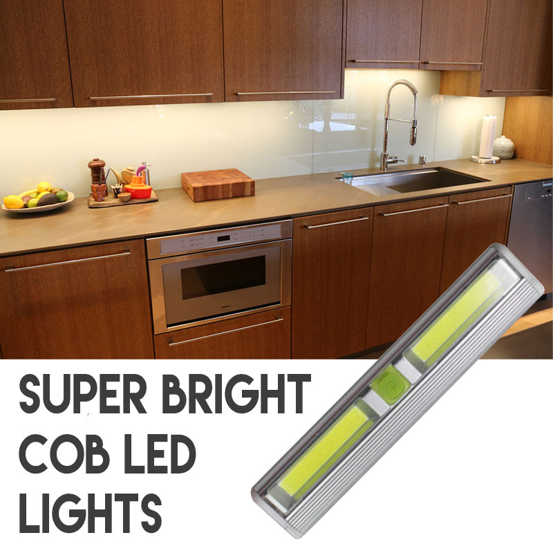 cabinet lighting 6. $5 Deal - Wireless Super Bright COB LED Tap Light Perfect For Under Cabinet  Lighting And More! Batteries Included! Just Peel \u0026 Stick Where You Want! 6+ 6 D