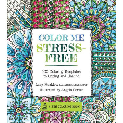 100% FREE Adult Coloring Book.