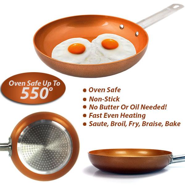 Non-Stick Copper-Ware Pan - ON...