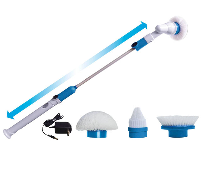 Cordless Power Spin Scrubber with Cleaning Kit
