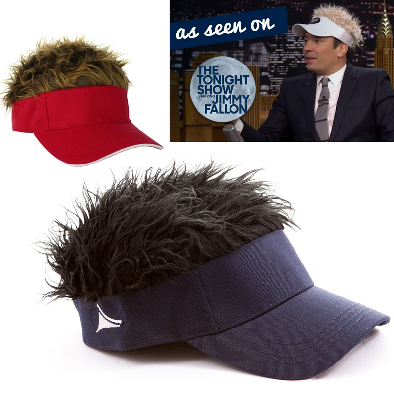 Flair Hair Visor - Have Some Fun, Show Some Flair! Also makes an instant Halloween Costume! One for $6 Or Two or more for $3.99 Each! SHIPS FREE!