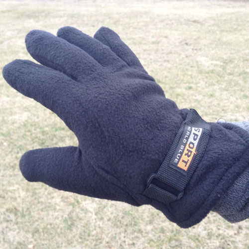 3 Pack Polar Fleece Gloves - 3...