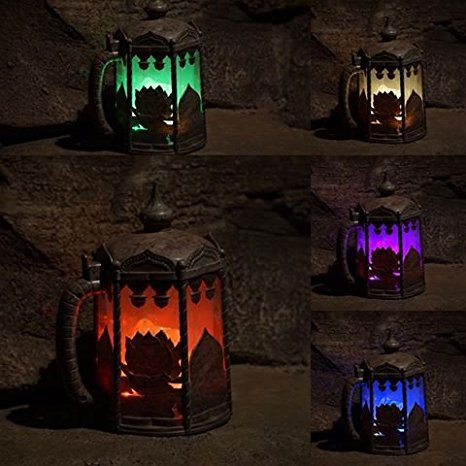 Light Up Color Changing Stein - Sold exclusively In Disney Parks... Until Now! THESE ARE SO COOL,  SEE THE VIDEO! - Order 6+ for $4.99 each! - GREAT FOR EASTER BASKETS! SHIPS FREE!