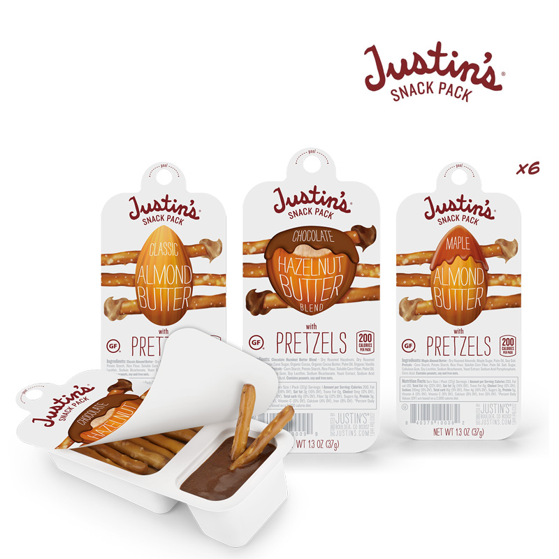 Justin's Pretzel and Almond Butter Snack Packs