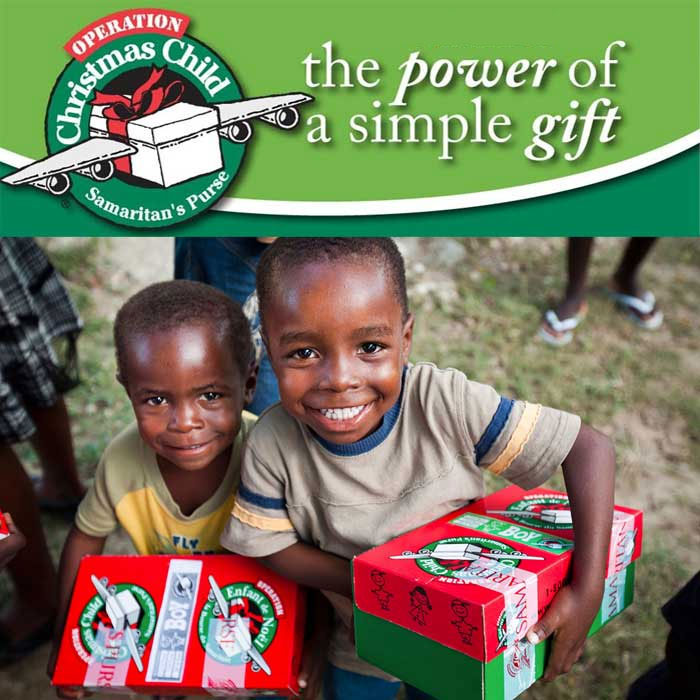 12th Annual Shoebox for Operat...