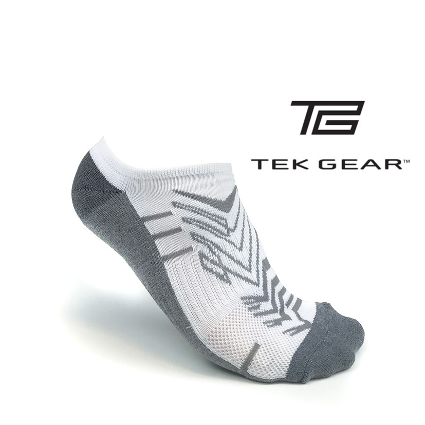 3-Pairs of Tek Gear No-Show Socks