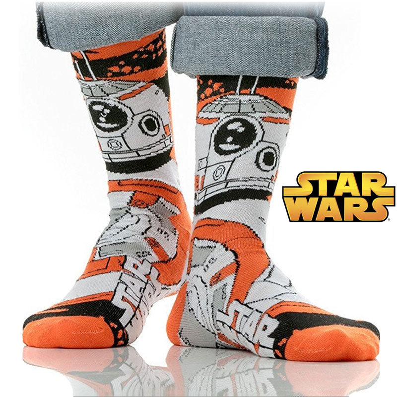 Star Wars BB-8 Crew Length Socks