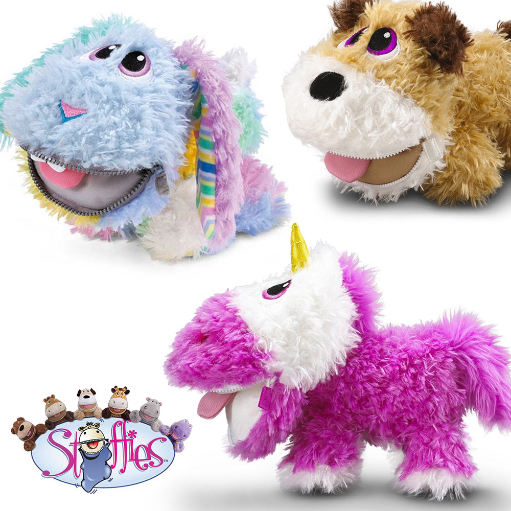 Stuffies Plush Toys with 7 Sec...