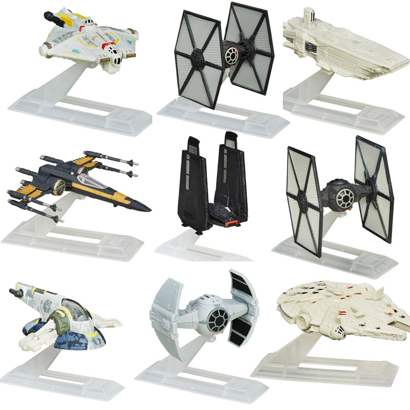 Set of 9 Star Wars Collectible...