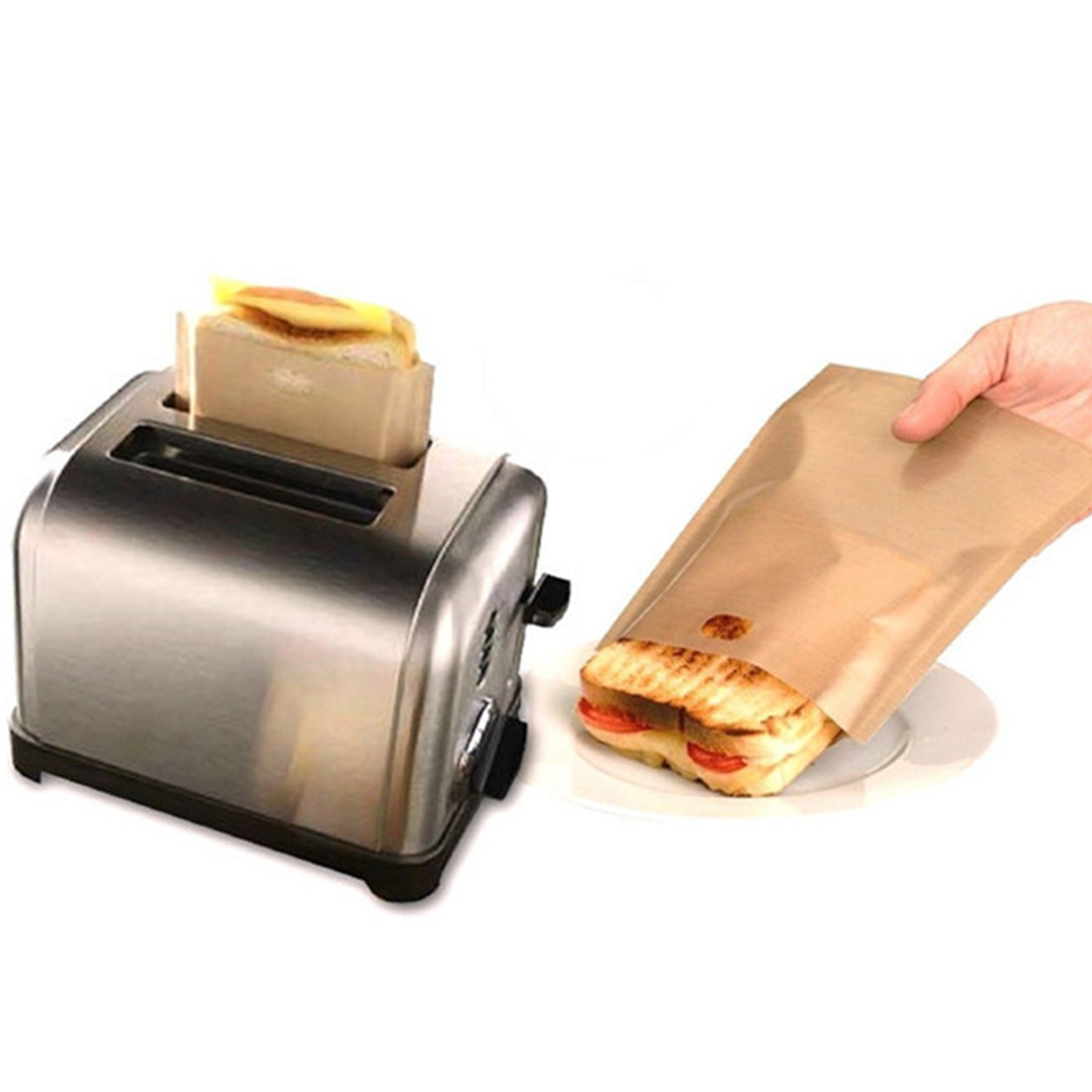 Reusable Toaster Sandwich Bag for Free