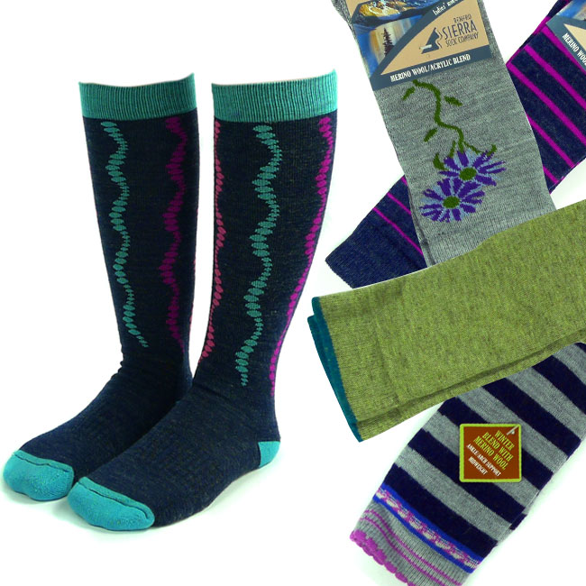 4 Pairs of Assorted Women's Merino Wool Socks – $11.99 SHIPS FREE by Jammin Butter