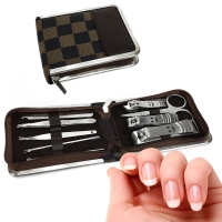 Deals on 10 Piece Stainless Steel Clipper Manicure Set
