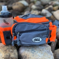 Deals on Hiking Waist Pack With Dual Water Bottle Holders