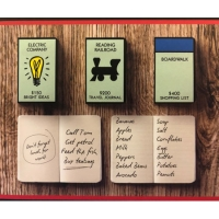 Deals on 3 Pack Officially Licensed Monopoly Themed Pocket Notebooks