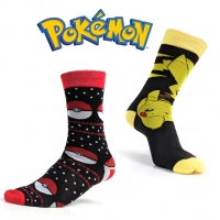 Deals on 2 Pairs Pokemon Adult Socks