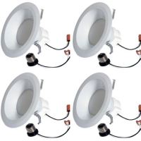 4 Pack GE Lighting 68579 LED Refresh HD 10w 65w Replacement