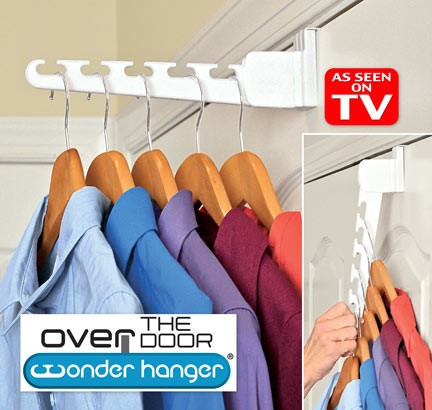 Ships Free As Seen On Tv Over The Door Wonder Hangers See The