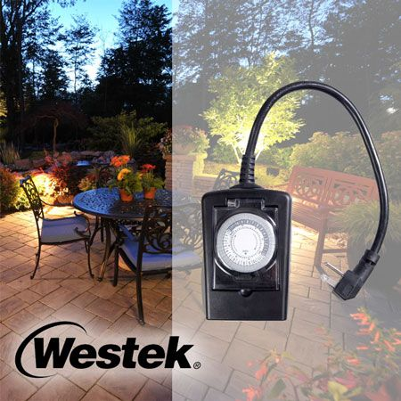 Outdoor Daily Heavy Duty Timer 1-Outlet Grounded