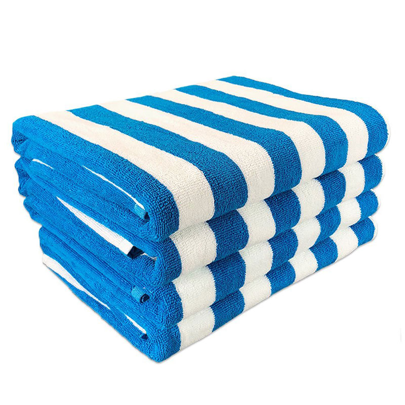 Set of 4 Cabana Oversized Beach Towel