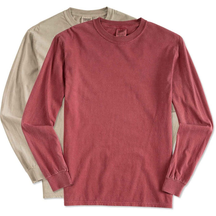 5 Pack of Ultra Comfortable Comfort Cotton Long Sleeve Shirts