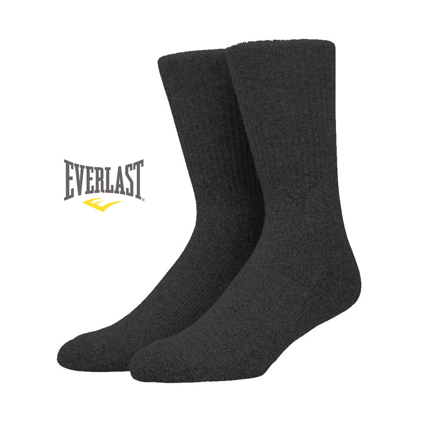 6 Pairs of Ultra-Soft Everlast Ringspun Cotton Thermal Socks