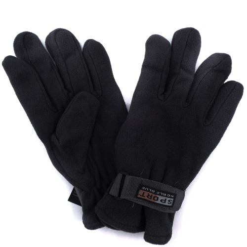3-Pack Polar Fleece Men's Gloves (Multiple Colors)