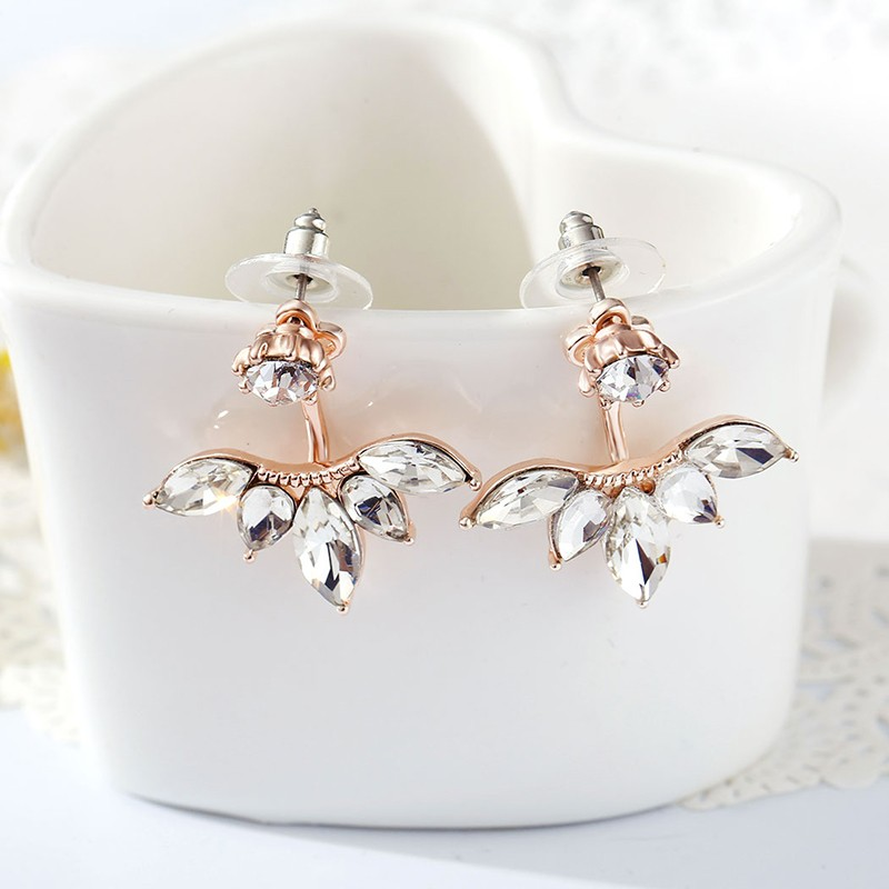 $9.99 (reg $40) Rose Gold Crys...