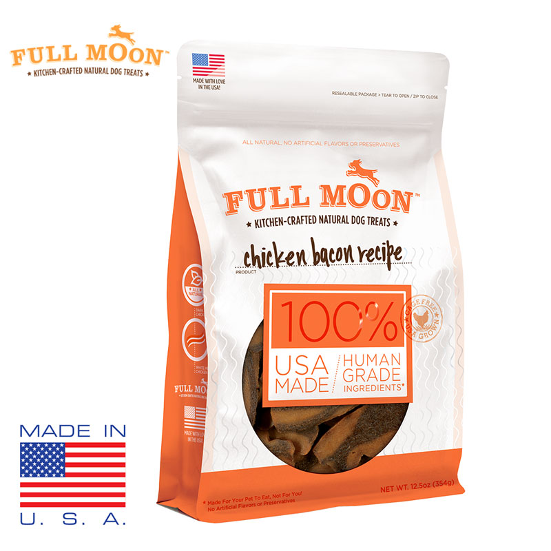 Full Moon Kitchen Crafted Dog Treats - 100% Human Grade Ingredients! 1 Bag For $6.49 Or 3 Bags For $15! SHIPS FREE