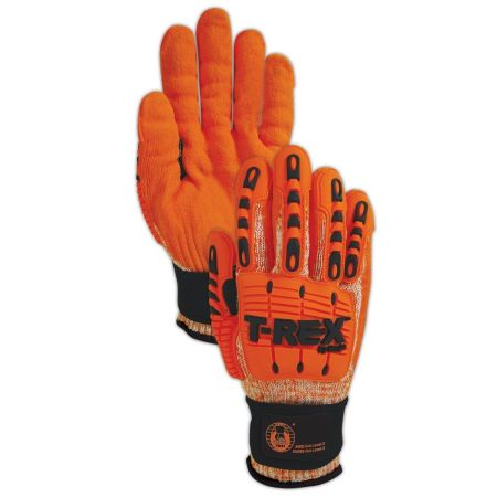 High Performance T-REX Cut and Impact Resistant Gloves by Magid - Size XL - Get the job done without the cuts and bruises! VERY nice gloves! - SHIPS FREE!