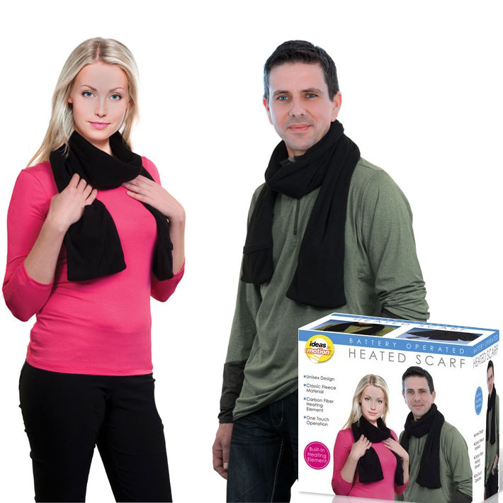 Electric Heated Scarf by Ideas In Motion - SHIPS FREE