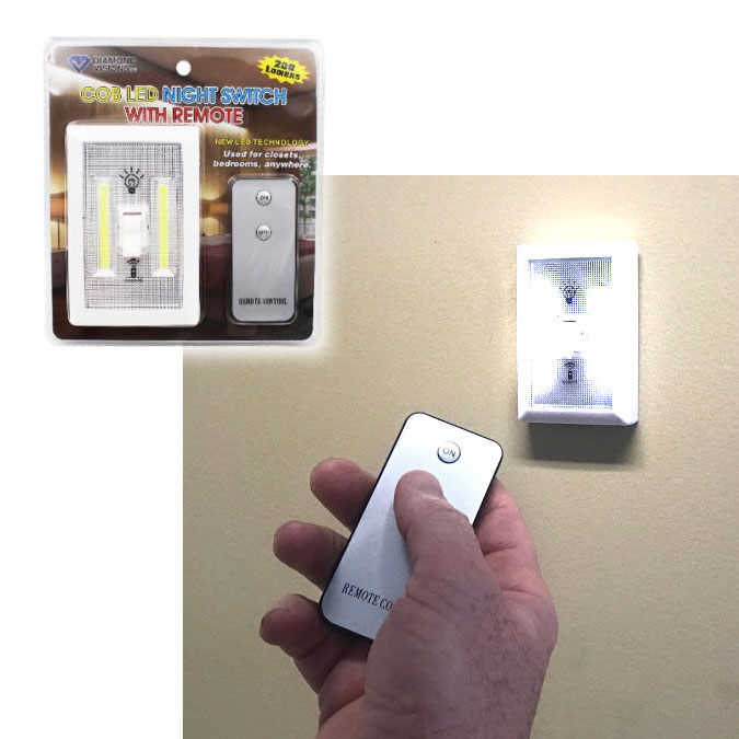 Wireless Remote Control LED Switch Light - Use the