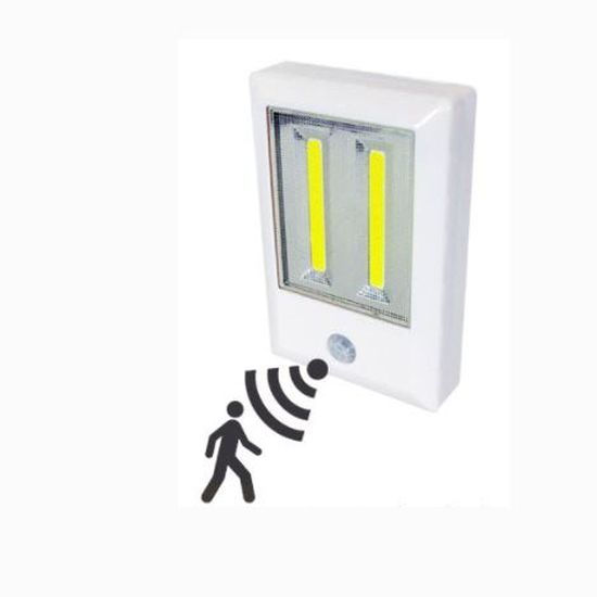 Wireless COB LED Ultra Bright Velcro/Magnetic/Stickup Motion Light  - Batteries INCLUDED! Order 3 or more for only $4.99 each! SHIPS FREE! BONUS: Grab your phone & Txt SECRET to 88108 for access to secret deals!