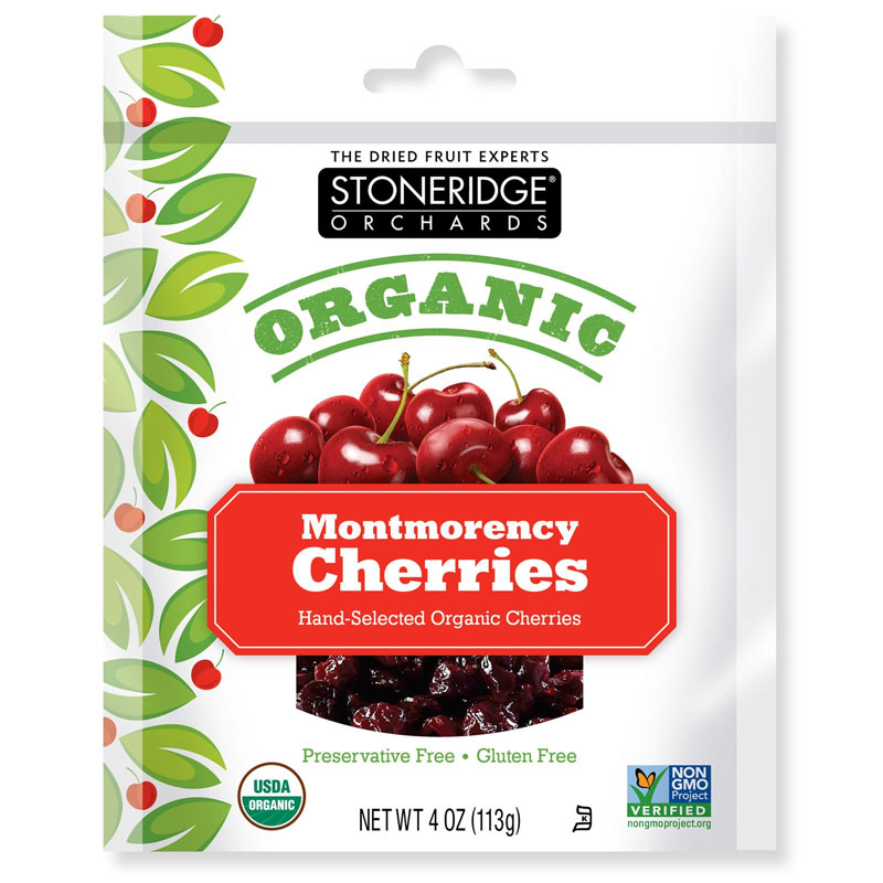 Stoneridge Orchards Organic Montmorency Cherries 4-oz Bag