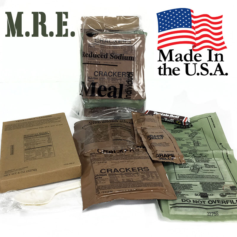 7-Pack M.R.E. (Meals Ready to Eat)