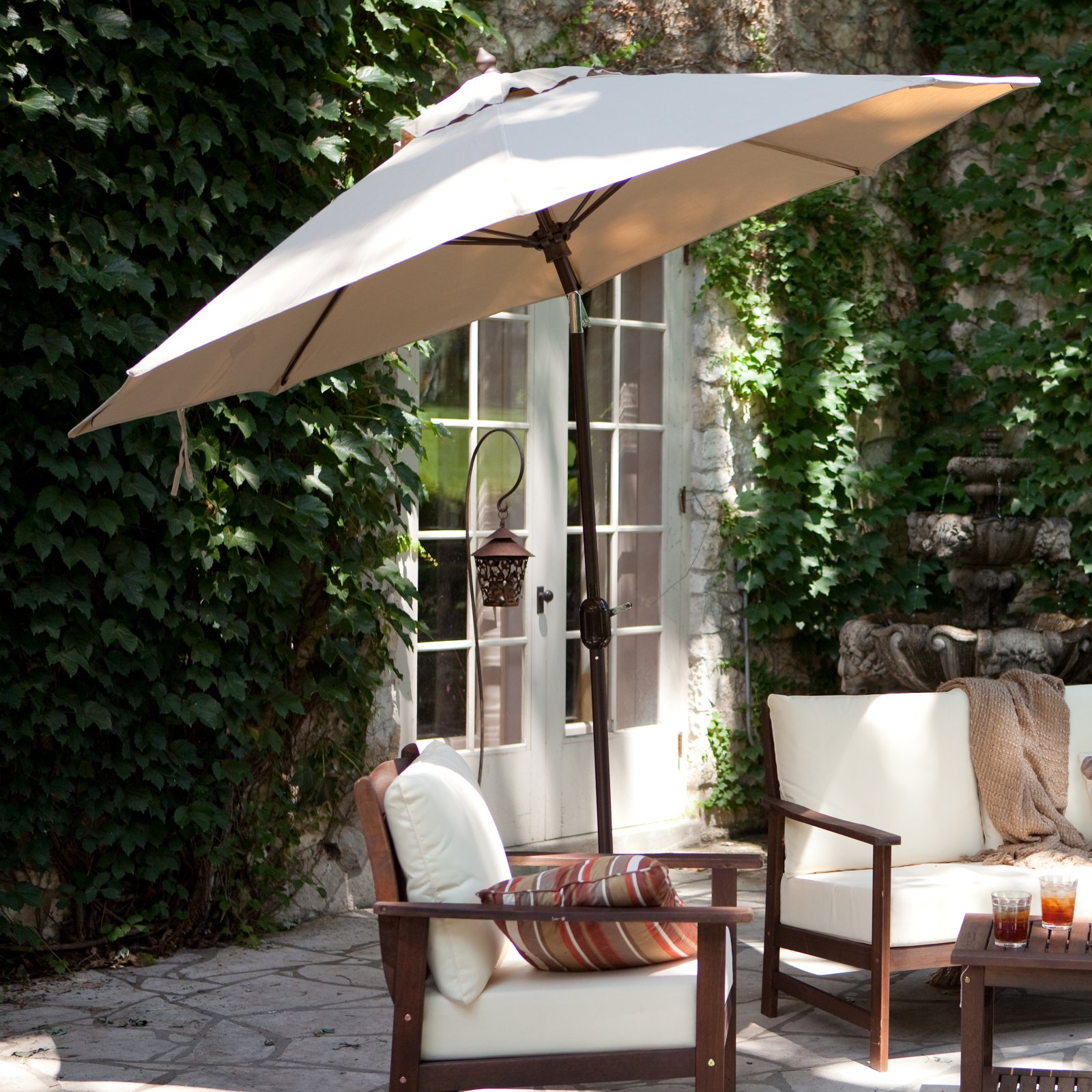 Attractive Deluxe Patio Umbrella Wtih Crank U0026 Tilt   Choose Color At Checkout!   THAT  Daily Deal