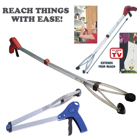 CLEARANCE - 24 Pick-Up and Reach Tool - Great to reach those things on the floor when you can't bend down, or up high when you can't reach it! One for $6 or Two for $11! SHIPS FREE!