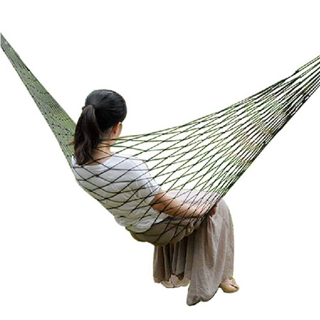 $5 FRIDAY DEAL - Indoor/Outdoor Ultra Portable Hammock - Kick back and relax! Perfect for enjoying the nice Spring air! Order 3 or more and the price drops to $4.99 each! - You're getting a GREAT deal on these simply because we're giving you a random color! SHIPS FREE!
