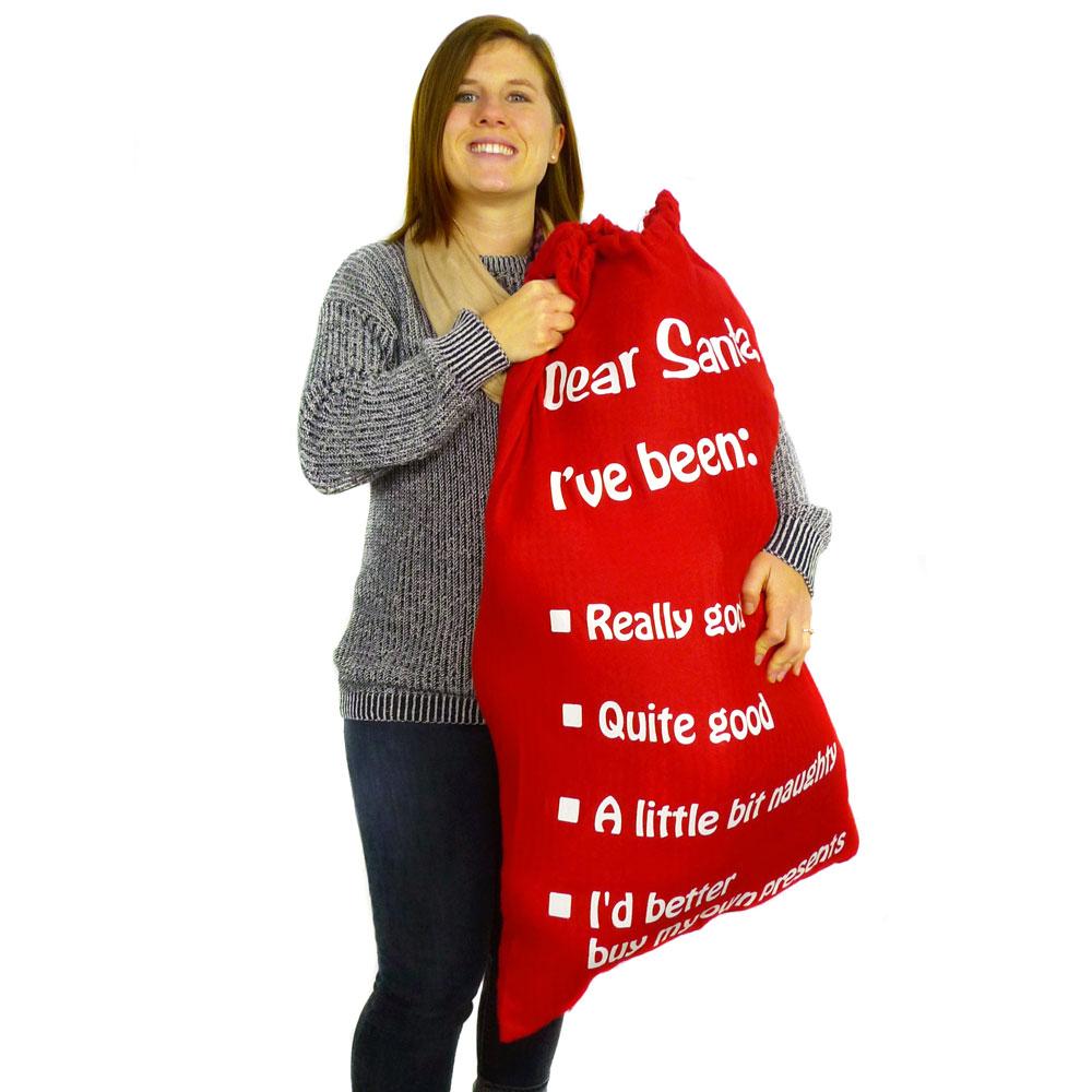 Mystery Santa's Christmas Bag.