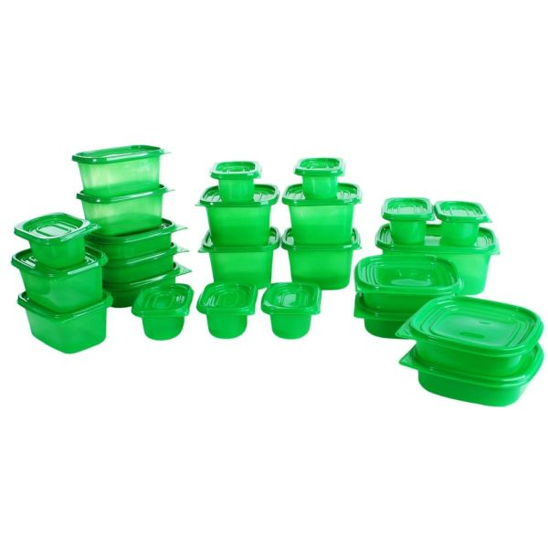 INSANE DEAL - LOAD UP - 50 Piece Always Fresh Air Loc Food Containers - Naturally extend the life of your food and GREAT for storing food for all the upcoming holidays! - Order 3 + for $8.99 each, just 18 cents per piece! - SHIPS FREE!
