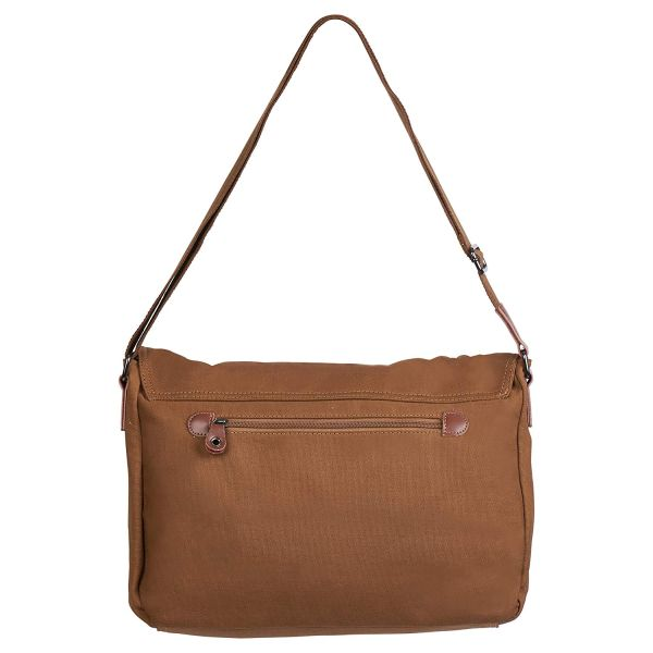 Water Resistant Sling Strap Canvas Messenger Tech Bag