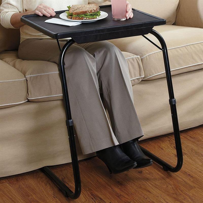 Deluxe Adjustable Height Amp Tilt Slide Under Table Top Tv